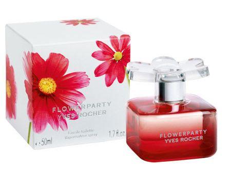 """Представляем новый аромат FLOWERPARTY  """"Цветочное Диско """" от Ив Роше."""