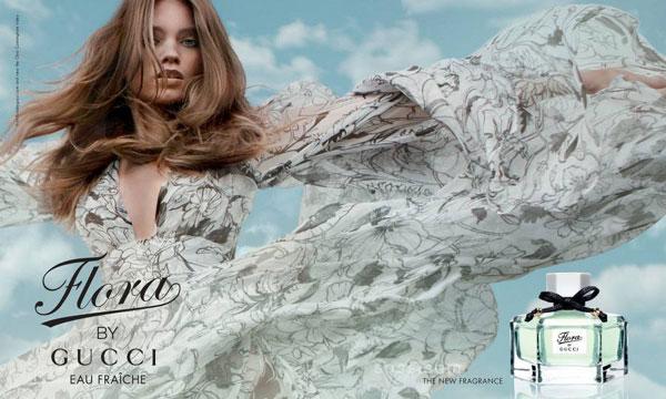 Цветочный парфюм Flora by Gucci Eau Fraiche.