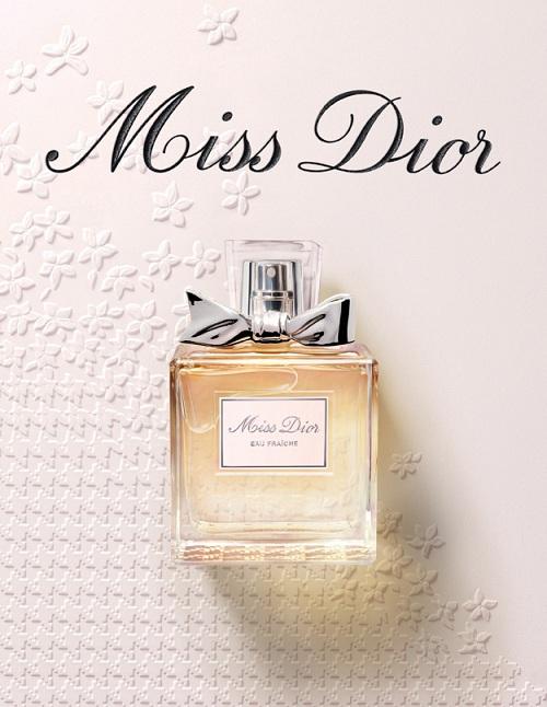 Новый аромат Miss Dior Eau Fraiche от Dior.