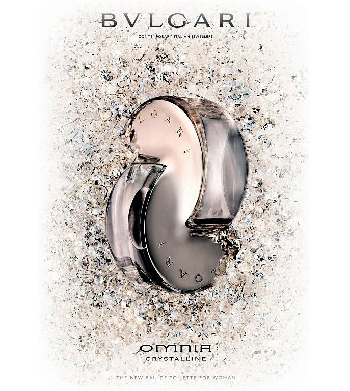 omnia crystalline by bvlgari 65ml edt sp women perfume. Black Bedroom Furniture Sets. Home Design Ideas