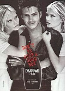 Image result for drakkar noir perfume poster